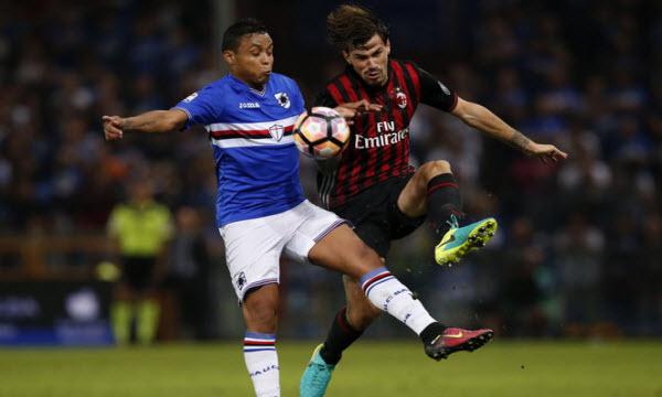 Thông tin trước trận Sampdoria vs AC Milan