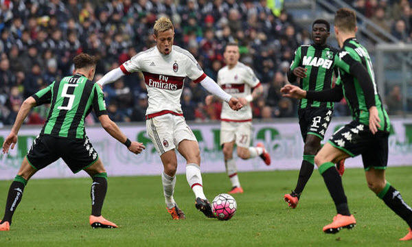 Bóng đá - US Sassuolo Calcio vs AC Milan 01h30, ngày 01/10