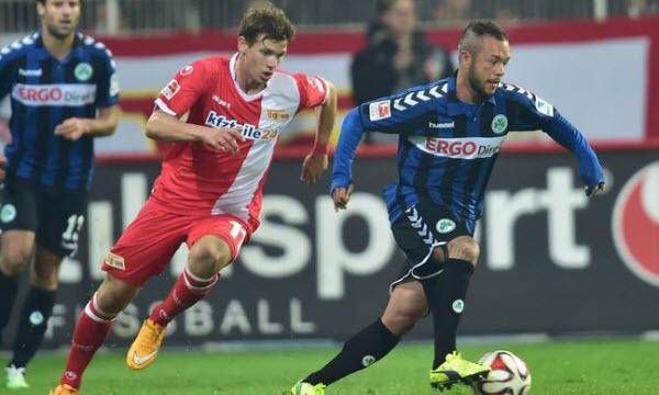 Bóng đá - Fortuna Dusseldorf vs Greuther Furth 23/01/2021 00h30