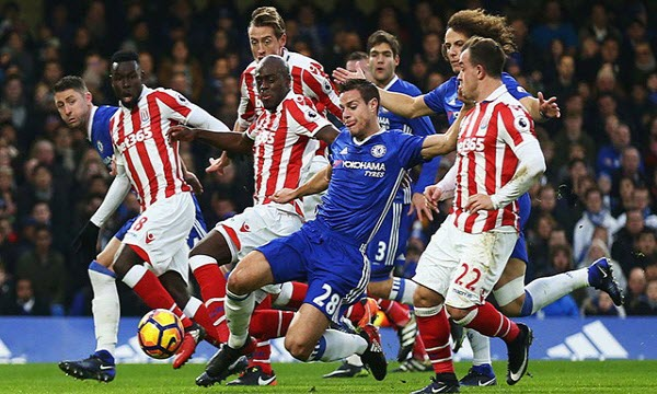 Bóng đá - Chelsea vs Stoke City 22h00, ngày 30/12