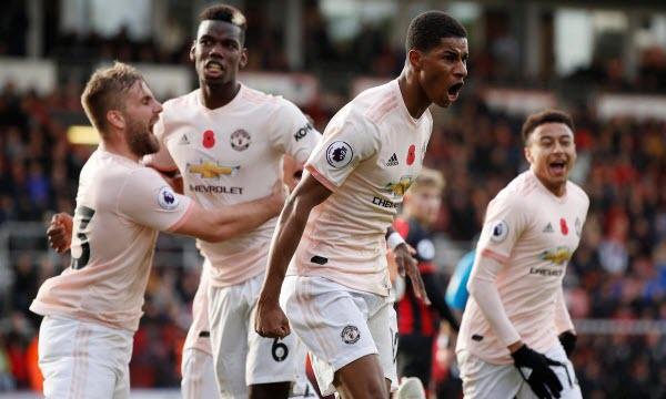 Bóng đá - Manchester United vs AFC Bournemouth 23h30 ngày 30/12