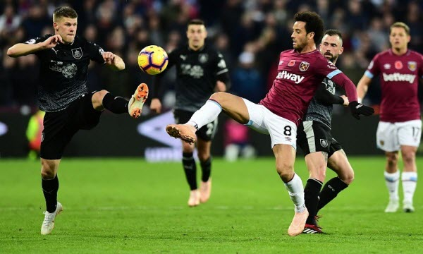 Bóng đá - Burnley vs West Ham United 21h15 ngày 30/12