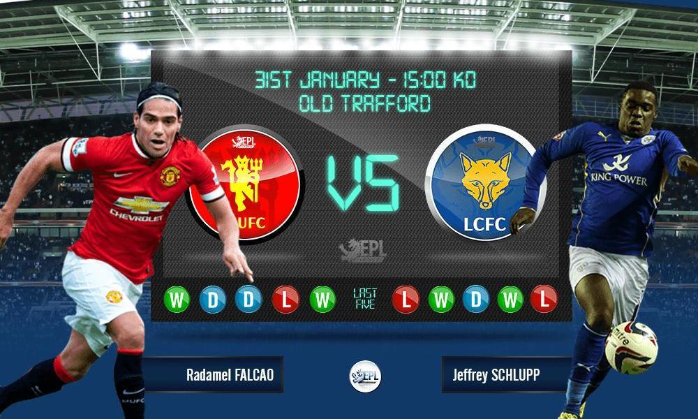 Bóng đá - Manchester United vs Leicester City 22h00, ngày 31/01