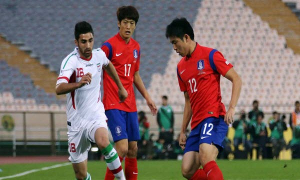 Bóng đá - Hàn Quốc vs Iran 19h00, ngày 31/08