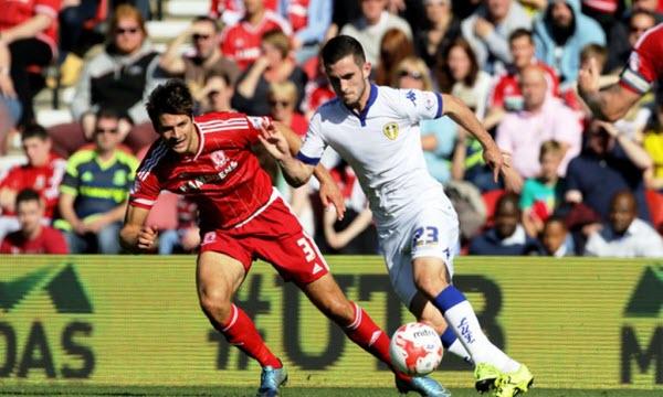 Bóng đá - Middlesbrough vs Leeds United 20h00 ngày 09/02