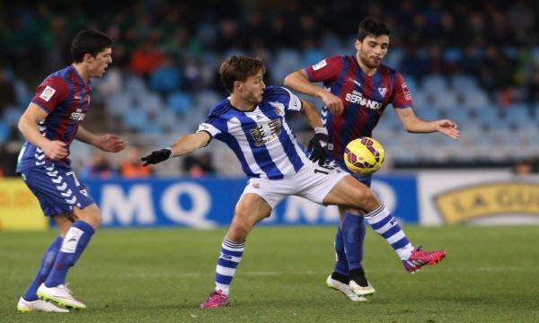 Bóng đá - Eibar vs Real Sociedad 03h00, ngày 01/09