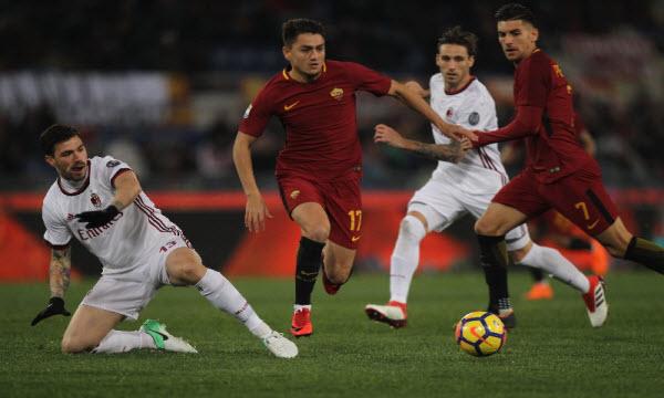 Dự đoán nhận định AS Roma vs AC Milan 02h30 ngày 04/02