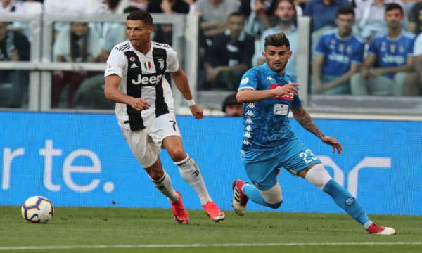 Đội hình Juventus vs Napoli 1h45 ngày 5/10