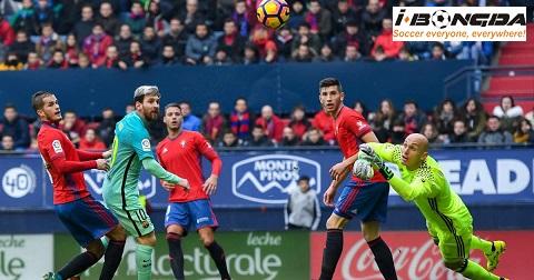 Bóng đá - Barcelona vs Osasuna 2h ngày 17/7
