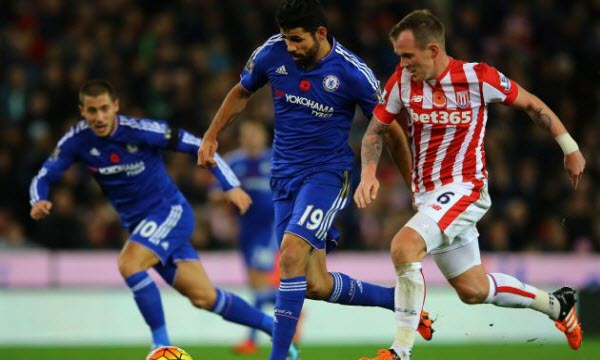Bóng đá - Chelsea vs Stoke City 22h00, ngày 31/12