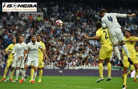 Villarreal vs Real Madrid ngày 04/01