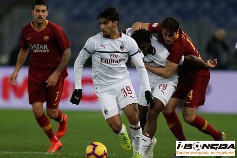 AS Roma vs AC Milan ngày 28/10