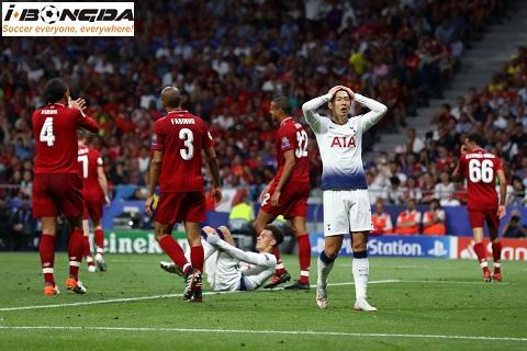 Liverpool vs Tottenham Hotspur ngày 27/10