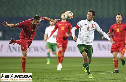 Montenegro vs Bulgaria ngày 12/10