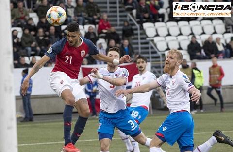 Na Uy vs Đảo Faroe 00h00 ngày 16/11