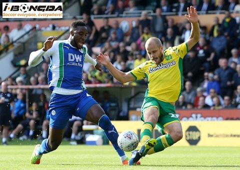 Wigan Athletic vs Norwich City ngày 14/04