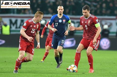Hungary vs Slovakia ngày 10/09