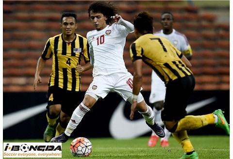 Malaysia vs United Arab Emirates ngày 10/09