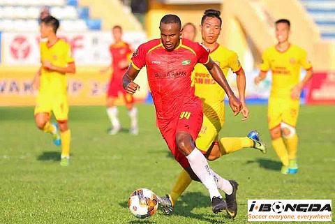 Nam Định vs Sông Lam Nghệ An ngày 30/06