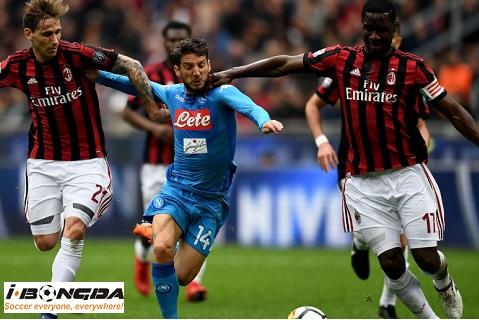 Napoli vs AC Milan 13/7