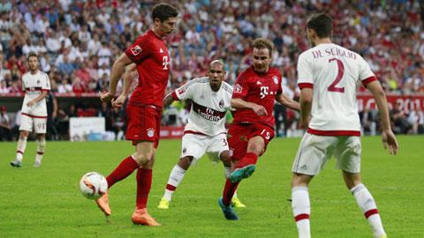 Bayern Munich 3 - 0 AC Milan (Audi Cup 2015, vòng )