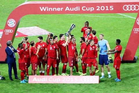 Bayern Munich 1 - 0 Real Madrid (Audi Cup 2015, vòng )