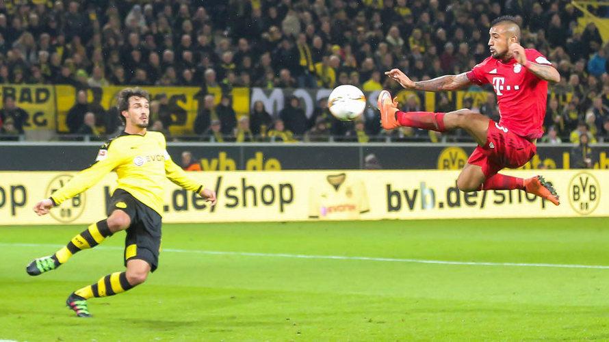 Borussia Dortmund 0 - 0 Bayern Munich (Đức 2015-2016, vòng 25)