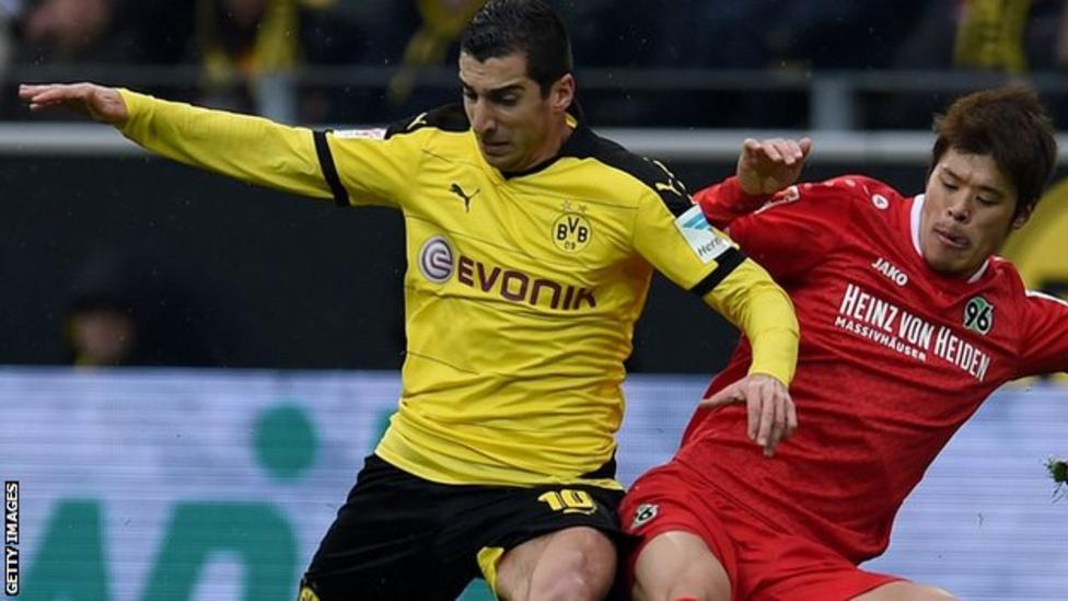 Borussia Dortmund 1 - 0 Hannover 96 (Đức 2015-2016, vòng 21)