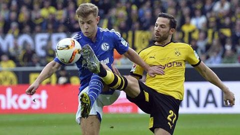 Schalke 04 2 - 2 Borussia Dortmund (Đức 2015-2016, vòng 29)