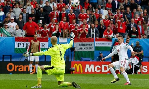 Áo 0 - 2 Hungary (Euro 2014-2016, vòng bảng)
