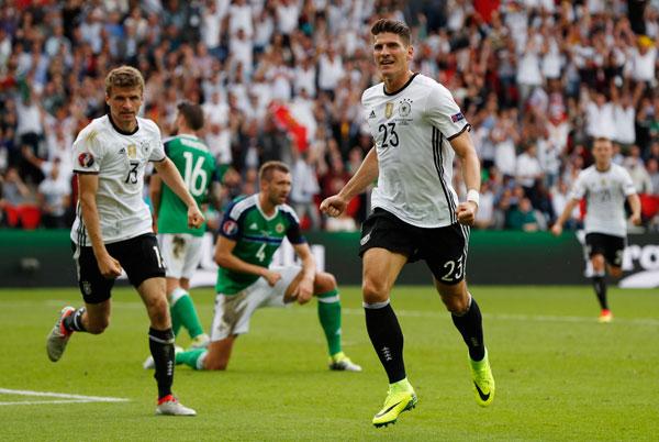 Bắc Ireland 0 - 1 Đức (Euro 2014-2016, vòng bảng)