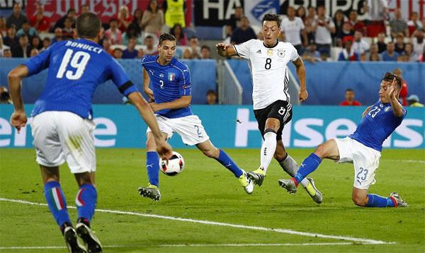 Đức 1 - 1 Italy (Euro 2016, vòng )