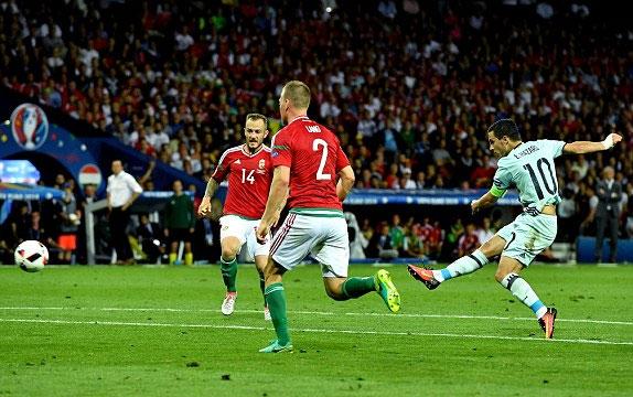 Hungary 0 - 4 Bỉ (Euro 2016, vòng )