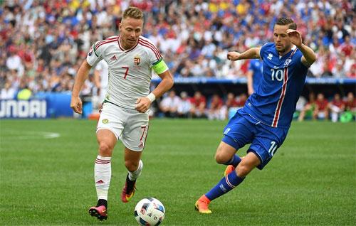 Iceland 1 - 1 Hungary (Euro 2014-2016, vòng bảng)