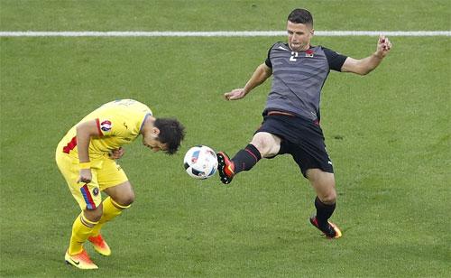 Romania 0 - 1 Albania (Euro 2014-2016, vòng bảng)