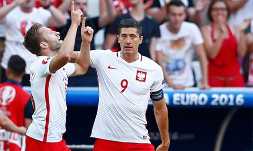 Ukraine 0 - 1 Ba Lan (Euro 2014-2016, vòng bảng)