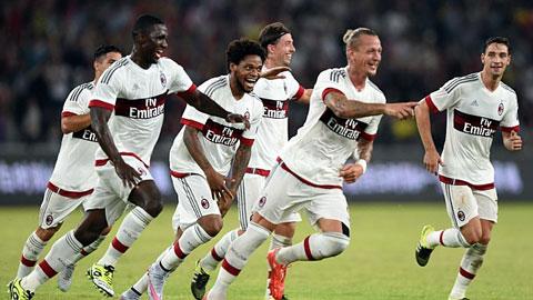 AC Milan 1 - 0 Inter Milan (International Champions Cup 2014, vòng )