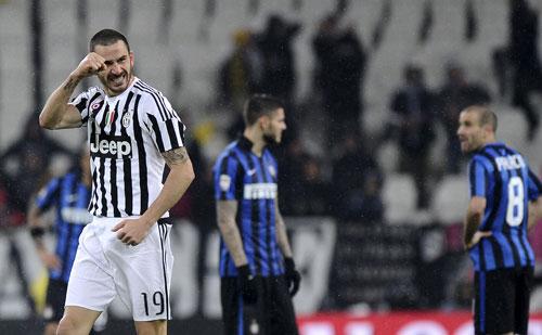 Juventus 2 - 0 Inter Milan (Italia 2015-2016, vòng 27)