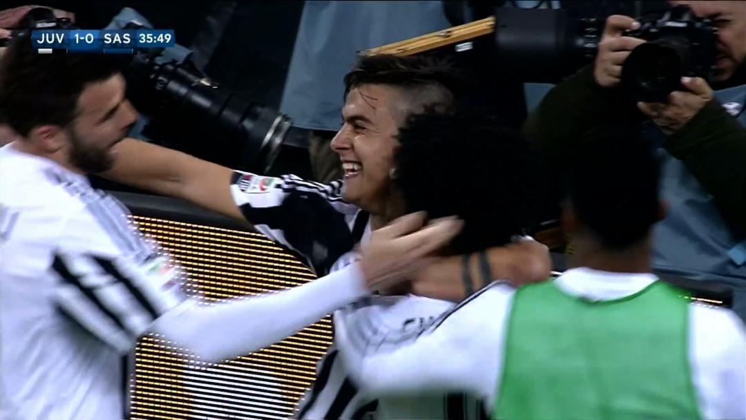 Juventus 1 - 0 US Sassuolo Calcio (Italia 2015-2016, vòng 29)