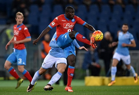 Lazio 0 - 2 Napoli (Italia 2015-2016, vòng 23)