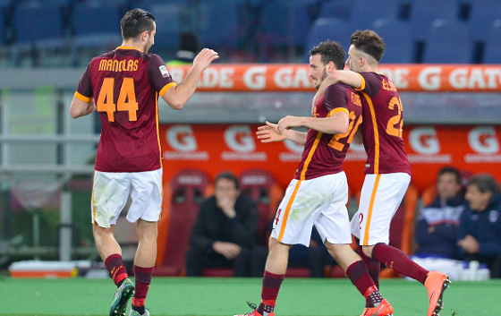 Udinese 1 - 2 AS Roma (Italia 2015-2016, vòng 29)