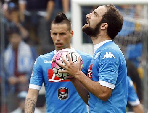 Udinese 3 - 1 Napoli (Italia 2015-2016, vòng 31)
