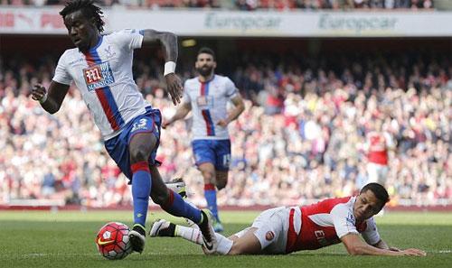Arsenal 1 - 1 Crystal Palace (Ngoại Hạng Anh 2015-2016, vòng 34)