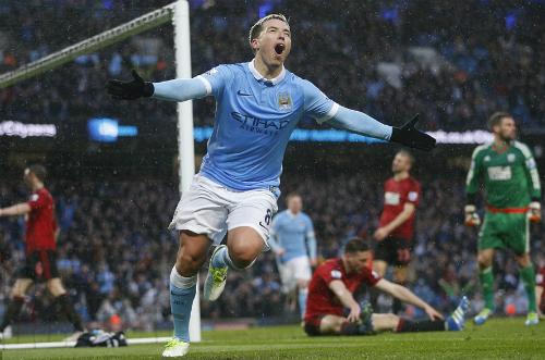 Manchester City 2 - 1 West Bromwich (Ngoại Hạng Anh 2015-2016, vòng 33)