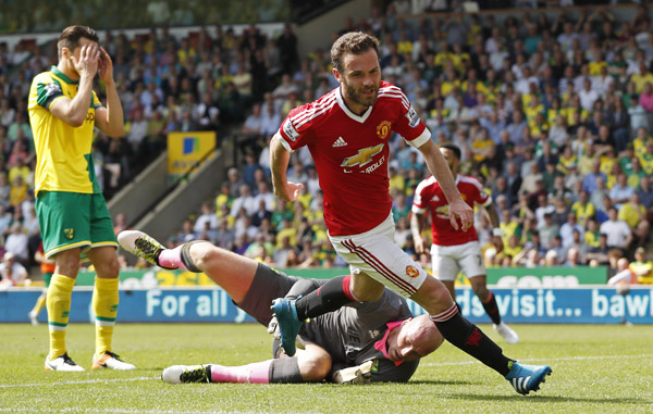 Norwich City 0 - 1 Manchester United (Ngoại Hạng Anh 2015-2016, vòng 37)