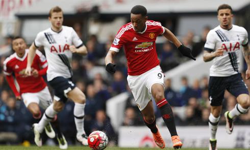 Tottenham Hotspur 3 - 0 Manchester United (Ngoại Hạng Anh 2015-2016, vòng 33)