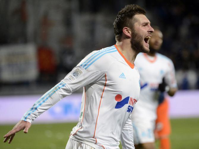 Bastia 3 - 3 Marseille (Pháp 2014-2015, vòng 1)