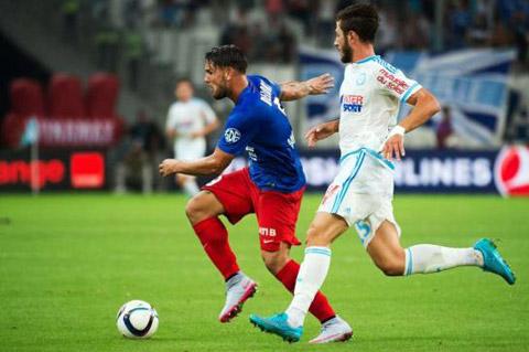 Marseille 0 - 1 Caen (Pháp 2015-2016, vòng 1)