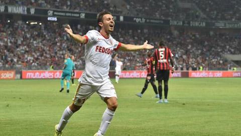 Nice 1 - 2 Monaco (Pháp 2015-2016, vòng 1)