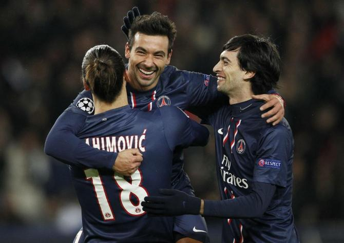 Paris Saint Germain 4 - 0 Montpellier (Pháp 2013-2014, vòng 38)
